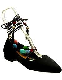 Amazon.es  la perla - Zapatos de tacón   Zapatos para mujer  Zapatos ... e261d4aade89