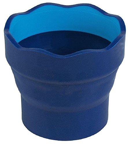 Faber-Castell – Vaso para el agua Clic & Go plegable fácil de guardar