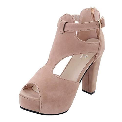 Sandalias Mujer Verano 2019 Logobeing, Plataformas Mujer Zapatos de Fiesta Calzado Plano Vestir Bohemias...