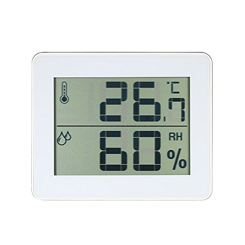 Decdeal LCD Digital Innen Thermo-Hygrometer ° C / ° F