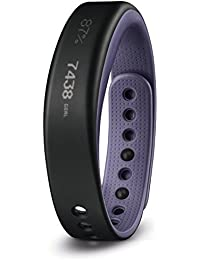Garmin VivoSmart - Pulsera con monitor de actividad, color morado, talla L