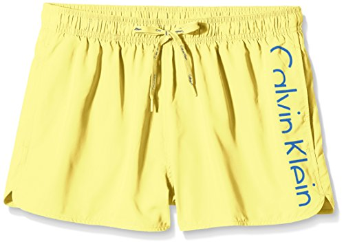 Calvin Klein Underwear Drawstring, Short Homme BLAZING YELLOW/ROYAL BLUE (BLAZING YELLOW/ROYAL BLUE)