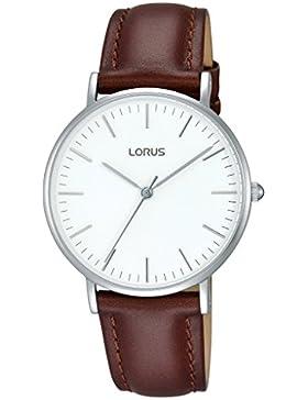 Lorus Watches Damen-Armbanduhr Klassik Analog Quarz Leder RH885BX9