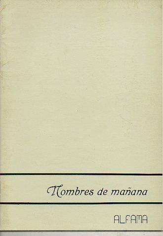 NOMBRES DE MAÑANA: ALFONSO CRUZ, Mª JOSÉ GARCÍA DEL MORAL, JOAQUÍN GONZÁLEZ, TOMÁS MUÑOZ ASENSIO, FELIPE RODRIGO DÍEZ Y FERNANDO SÁNCHEZ LÓPEZ.