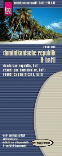 Preisvergleich Produktbild Reise Know-How Landkarte Dominikanische Republik, Haiti (1:450.000): world mapping project