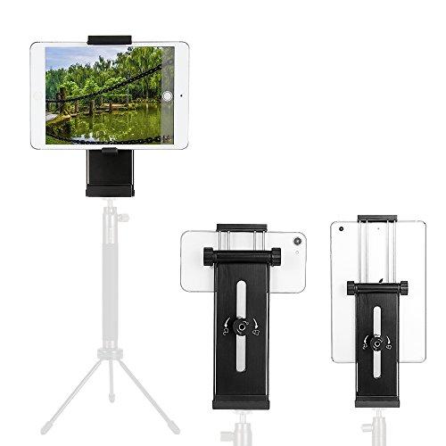 4 in 1 Handy Stativ Adapter, Moreslan iPad Stativ Halterung Adapter Desktop Halter mit 1/4