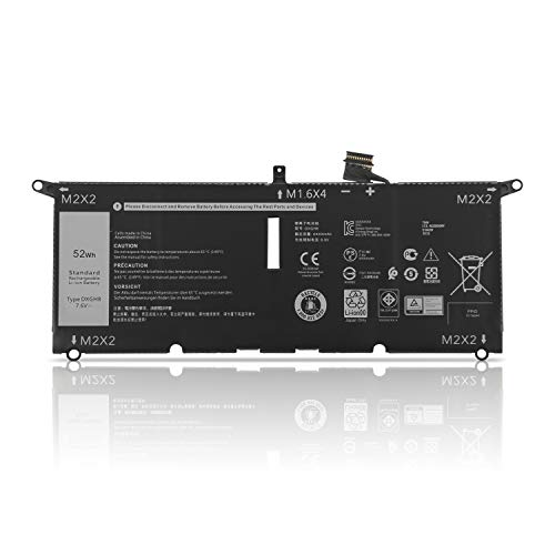 K KYUER 52WH DXGH8 Laptop Batería for DELL XPS 13