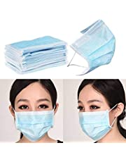 UNIK BRAND™ Nose Mask-3ply Disposable Mouth Masks 10pcs Nose Mask Dust Mask Pollution Mask (Color May Vary)