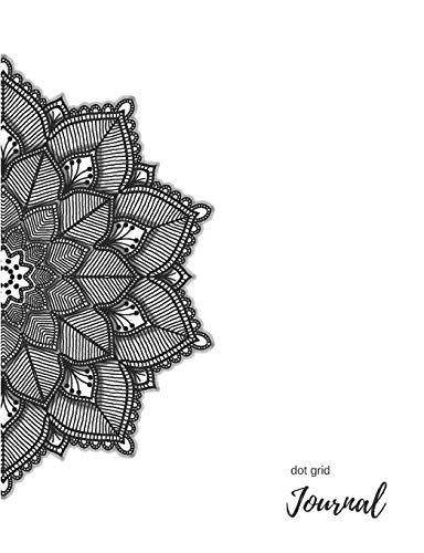 Dot Grid Notebook: White Mandala Bullet Journal. 140 Pages. Diary, Planner, Organiser, Sketch Book, Calligraphy Practice, Mapping & Drawing, or Composition Book. Perfect for home, office or school. (Mapping-stift)