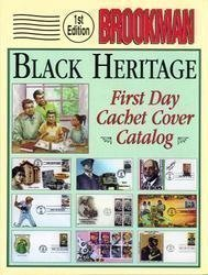 Brookman Black Heritage First Day Cachet Cover Catalog