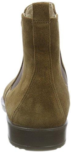ECCO Shape M 15, Stivali Chelsea Donna Marrone (Camel)