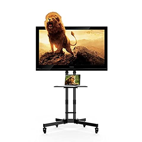 FLEXIMOUNTS C06 Mobile TV Cart LCD Stand for 32