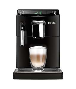 Philips HD8841/01 4000 Serie Kaffeevollautomat, CoffeeSwitch, klassischer Milchaufschäumer, schwarz