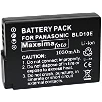 Maxim - Battery for Panasonic DMC-GF2, GF2, G3, DMW-BLD10, DMW-BLD10E, 1010mAh BATTERY PACK (DOES NOT SHOW BATTERY METER READING) BLD10, By Maxim Foto Supplies