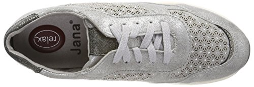 Jana Damen 23624 Sneaker grau (Lt. grey)