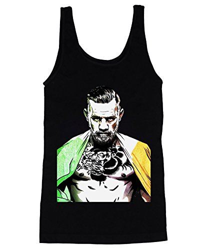 Conor Mcgregor Irish Flag Men's Tank Top Shirt Extra Large