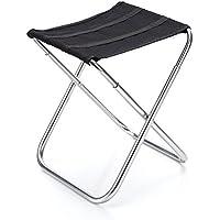 Preisvergleich für VORCOOL Alumium Klappstuhl Stuhl Angeln Camping Outdoor Sitz Tragetasche