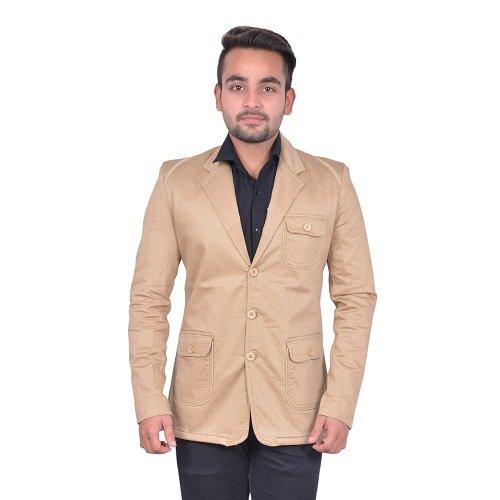 GDS Self Design Party Wear Men Blazers