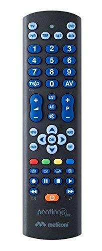 Meliconi Telecomando Universale PRATICO 6 RC - Ps2 Dvd Remote