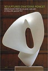 Sculptures d'Antoine Poncet : Résonnances poétiques avec Jeam Arp et Philippe Jaccottet