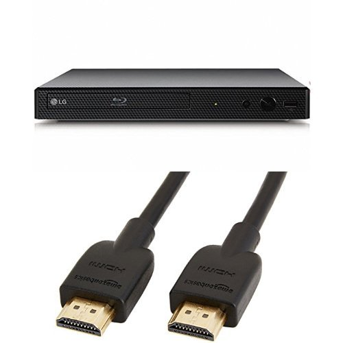 41KstlpxfcL. SS500  - LG BP250 Blu-Ray and DVD Disc Player with Full HD Up-scaling and external HDD playback
