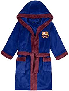7c05e8e7121af FC Barcelona - Batín oficial con capucha - Para niño ...