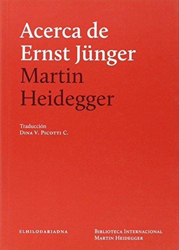 Acerca De Ernst Júnger