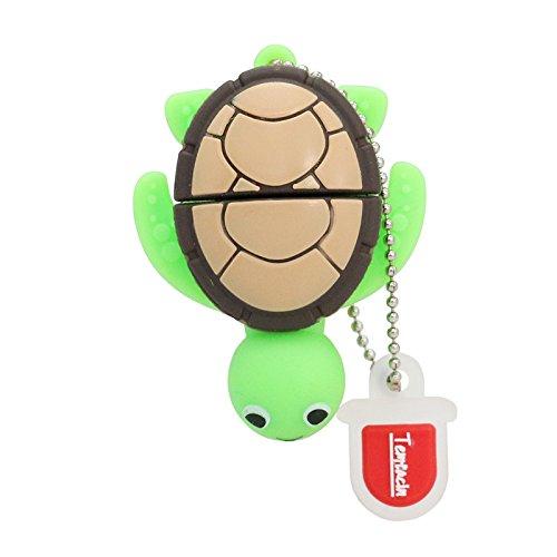 32gb usb flash drive usb - cartoni animali 2,0 emory bastone mini bella tartaruga verde microdrive
