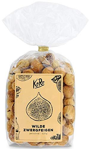 Getrocknete Zwergfeigen   Trockenfrüchte Ohne Zusätze   Schwefelfrei   500 g Packung   KoRo   Feigen  Delikatesse