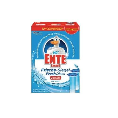 WC-Ente Frische-Siegel Nachfüller, Marine, 5x 2 à 36 ml