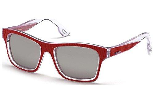 Diesel Denim Temple Wayfarer Sunglasses in Black DL0071 01A 55