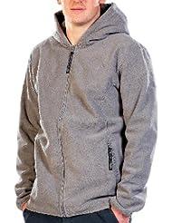 PEARL veste d'extérieur en polaire à capuche pour homme taille xL (gris)