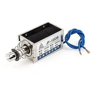 DealMux DC 12V 42N 10 mm Ziehen Open Frame Wired Elektromagnetische Hubmagnet