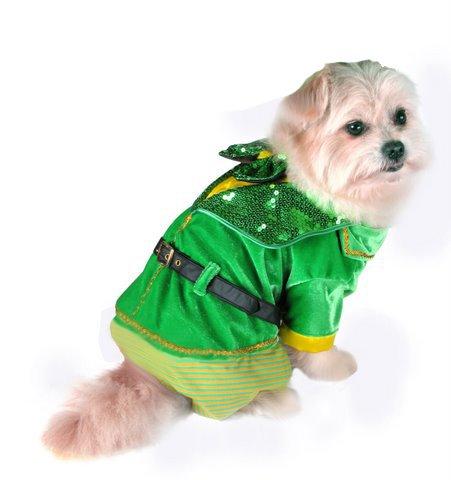 Puppe Love Deluxe Leprechaun Boy Kostüm für Hunde, Size 5 (14