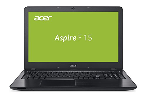 Acer Aspire F 15 (F5-573G-52PJ) 39,6 cm (15,6 Zoll) Full HD Laptop (matt) (Intel Core i5-7200U, 8 GB RAM, 128 GB SSD, 1000 GB HDD, NVIDIA GeForce 940MX (2 GB GDDR5 VRAM), DVD, Win 10 Home) schwarz