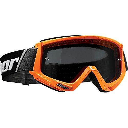 Thor Combat Sand Goggle Crossbrille orange Motocrossbrille Offroad Enduro Quad ATV MX SX DH FR Yamaha Honda Suzuki BMX MTB Motocross Cross Brille getöntes Glas