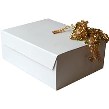 Shredded Paper Metallic Gold Christmas Hamper Shred Gift Box Filler Packaging