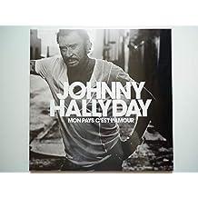 Johnny Hallyday 33Tours vinyle Mon Pays C'est L'amour (vinyle blanc collector)