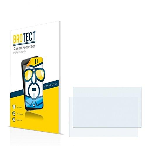 2X BROTECT HD Clear Displayschutz Schutzfolie für ASUS Eee PC 1015PE Seashell (kristallklar, extrem Kratzfest, schmutzabweisend)
