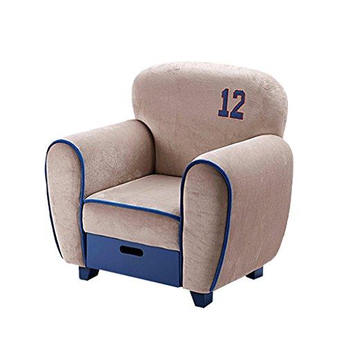 JIE KE Kinder-kleines Sofa, einfacher moderner Sitz, Kinderzimmer-Lesestuhl, Speicher einzelnes...