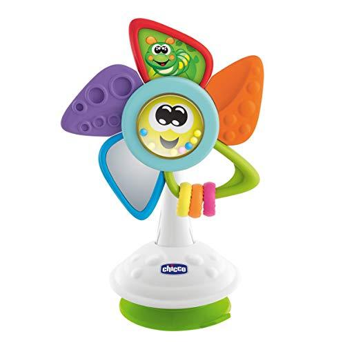 Chicco Tino El Molino - Juguete de trona para bebés con ventosa y actividades manuales