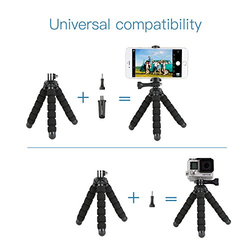 14 99 fotopro smartphone trpied flexible mini trpied avec bluetooth dclencheur pour iphone. Black Bedroom Furniture Sets. Home Design Ideas