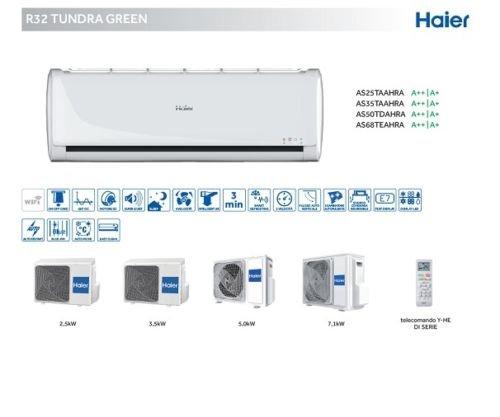 Haier Klimaanlage Inverter 9000BTU Energie A + + Tundra Green Gas R32