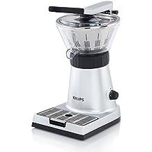 Krups Citrus Press ZX7000 - Exprimidor con tapa y clip para sujetar cítricos, 130 W