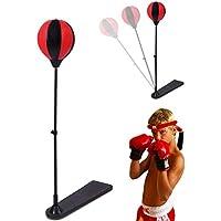 Ballylelly Tragbare Größe Stressabbau Boxing Punch Birne Geschwindigkeit Ball Entspannt Boxsack Box Speed Ball Set Boxing Training Tools