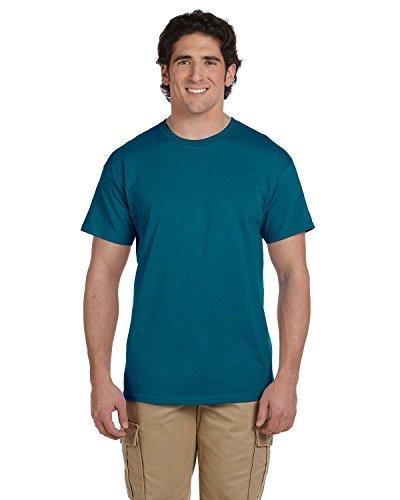 Gildan Herren Ultra Baumwolle Erwachsene T-Shirt Small Blau - GALAPAGOS BLUE (Erwachsene Ultra Cotton T-shirt)