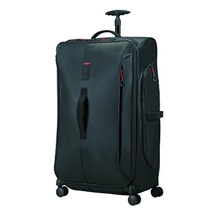 SAMSONITE Paradiver Light – Spinner Duffle Bag 79/29 Bolsa de viaje, 79 cm, 125 liters, Negro (Black)
