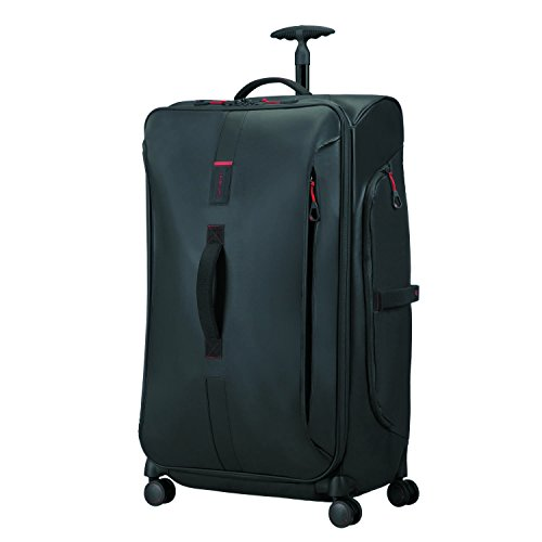SAMSONITE Paradiver Light - Spinner Duffle Bag 79/29 Bolsa de viaje, 79 cm, 125 liters, Negro (Black) Samsonite