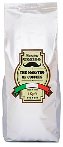 Puccini Coffee Beans, 1Kg, Italian