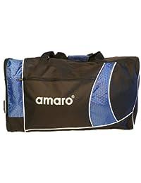 Amaro sac de sport tendance l 46,5 (noir/bleu)